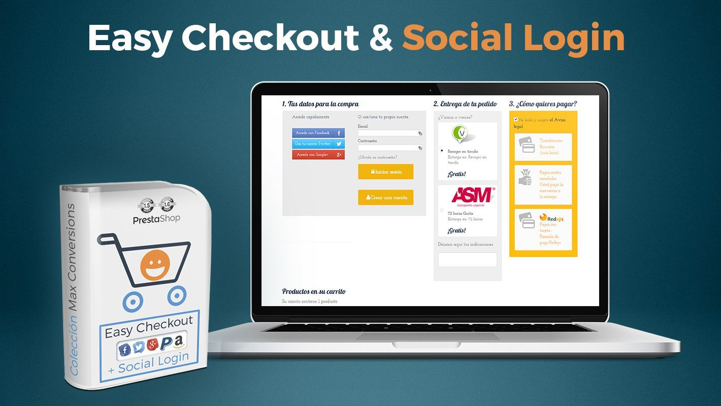 easy checkout para prestashop