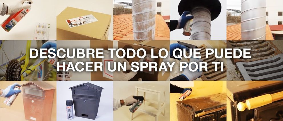 utilidades de un spray