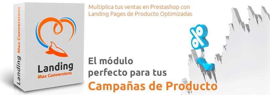 módulo campañas de producto