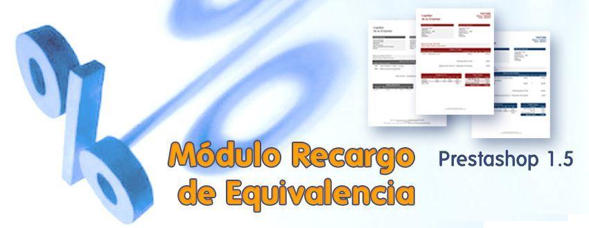 módulo recargo de equivalencia prestashop 1.5